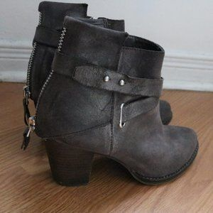 Wishbone Collection - Leather Booties